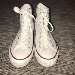 The Chuck Taylor high top white Men's Sneaker 12